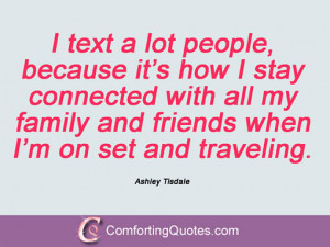 Ashley Tisdale Quotations