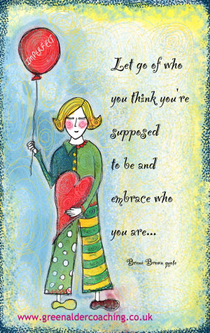 Brene Brown quote illustrated by Lisa McLoughlin www ...