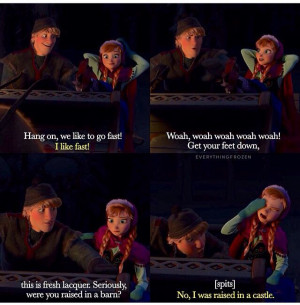 Frozen Kristoff And Anna Tumblr Quotes