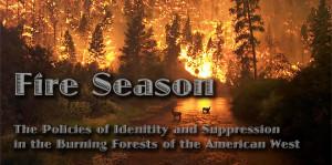 Burning Forest Cartoon