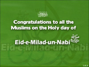 Wish you all blessed Eid Milad-un-Nabi(SAW).