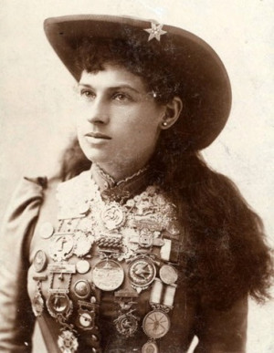 On this Day in History… August 13th: Annie Oakley is Born