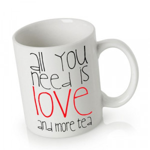 Ceramic Mug Coffee Can be Personalized   Tea Quotes