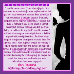 Am A Confident Woman.. | Love Quotes And SayingsLove Quotes And ...
