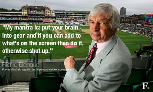 ... dry humor, commentating genius: A pick of Richie Benaud's best quotes