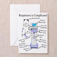 Respiratory Therapist Greeting Cards