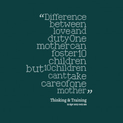 Foster Mother Quotes
