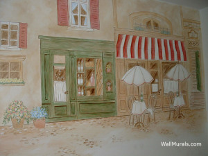 KITCHEN WALL MURALS BY COLETTE - KITCHEN MURALS - BORDERS