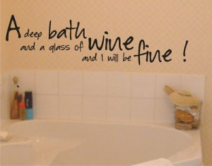 Bathroom phrases quotes quotesgram for Small bathroom quotes