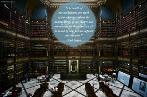 Flavorwire posted a series of great quotes about libraries from famous ...