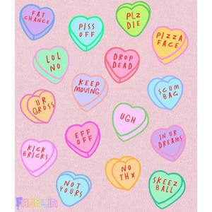 ... Heart Candy Rude Kawaii Sweatshirt Pastel Goth Pastel Grunge Fashlin