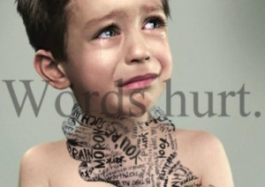 words hurt- Mental and Verbal abuse. sad to look at but a true ...