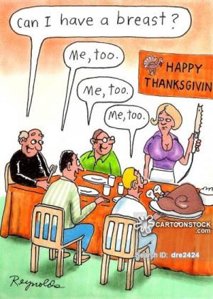 turkey breasts cartoons