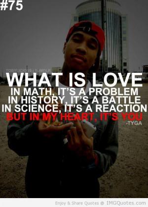 Future Rapper Quotes Tumblr | Rap Quotes About Love Tyga Quote