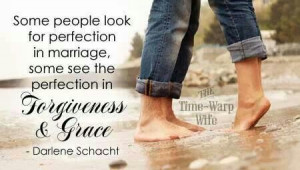 Marriage - forgiveness and grace