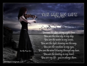 English Design poetry You Are My Life