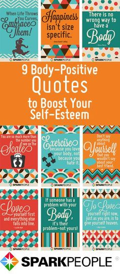 Great body-positive quotes to boost your self-esteem. Pinning this for ...
