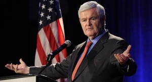 Newt Gingrich speaks to the Georgia Republican Party, Friday, May 13 ...