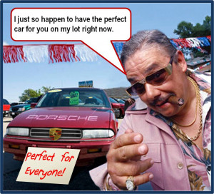 """you can't trust used car salesmen"""" How we form prejudices"""