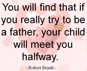 Try to be a good father. #Dads