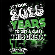 Senior Class Fall TShirt Ideas - Winning Shirt We R15E Above All!