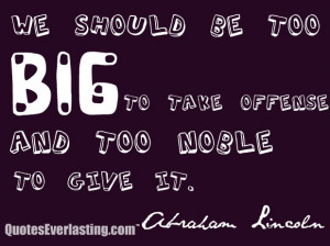 By Abraham Lincoln Quotes | Published April 23, 2013