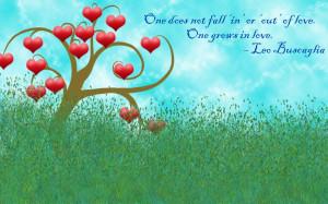 Inspiring Tuesday - Grow in Love