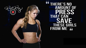 Ronda Rousey Quotes 2015 - HD Wallpaper