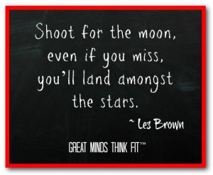 Goal #Quote by Les Brown