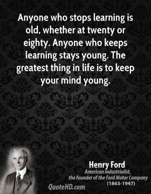 Henry Ford Success Quotes...