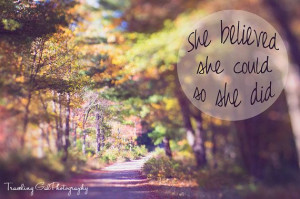 quotes art print travel photography dreamy autumn foliage fall ...