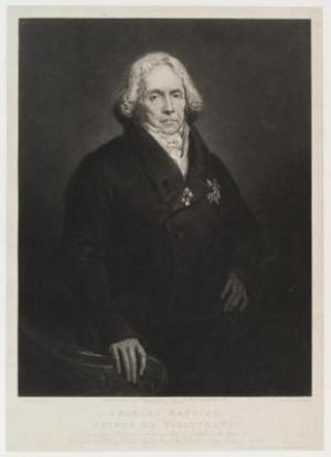 Charles Maurice de Talleyrand P rigord Prince de Benevento