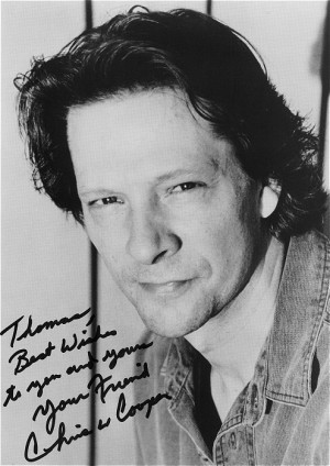 Hendry and a young Chris Cooper