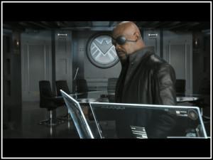Nick Fury Met Zijn Secret