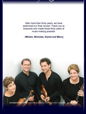 Mendelssohn Quartet