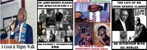 DR. JOHN HENRIK CLARKE, AFRICA, CHRIST, LIFE ON 4 DVDs