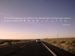 the infinitely many roads on the road which is life