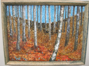 Related Pictures birch trees with bright and colorful fall colors