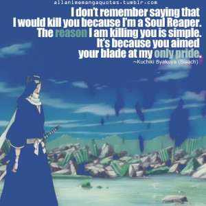 sniff sniff* Rukia is Byakuya's pride! Ah, it's now true! I'm ...