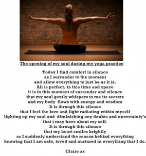 ... quotes thank you yoga for helping me find my inner bliss quote and
