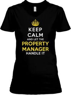 Limited Edition - Property Manager T-shirt | Would you wear this??