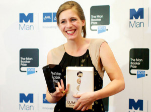 Eleanor Catton, the youngest ever Booker Man prize winner.