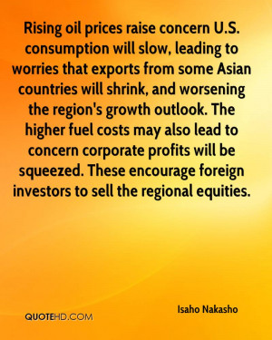 Rising oil prices raise concern U.S. consumption will slow, leading to ...