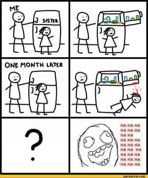 details me sister one month later funny pictures auto happy sister ...