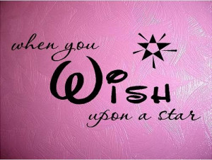 Quote-When You Wish Upon A Star-special buy any 2 quotes and get a 3rd ...