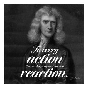 Home Isaac Newton Quote Canvas Art Print #4078