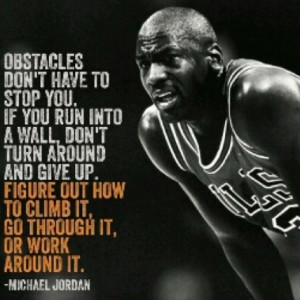 michaeljordan #quote #powerful #inspiration #true overcome any # ...