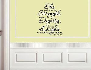 She-Is-Clothed-In-Strength-Dignity-Vinyl-Quote-Me-Wall-Art-Decals-0764