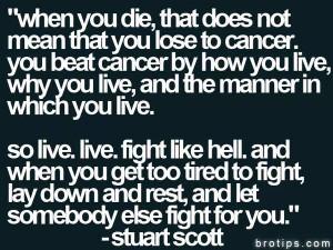 SC Columbus RIP Stuart Scott One of the greatest Stuart Scott quotes