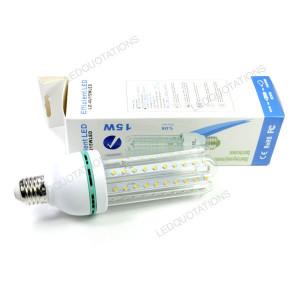 15W E27 Base 80 LED 2835 SMD Warm/Pure/Cool White Light Energy Saving ...